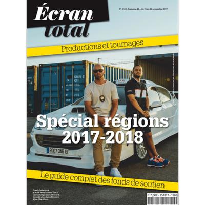 Couv n° 1163 – Spécial Régions 2017-2018
